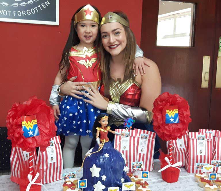 Wonderwoman Party