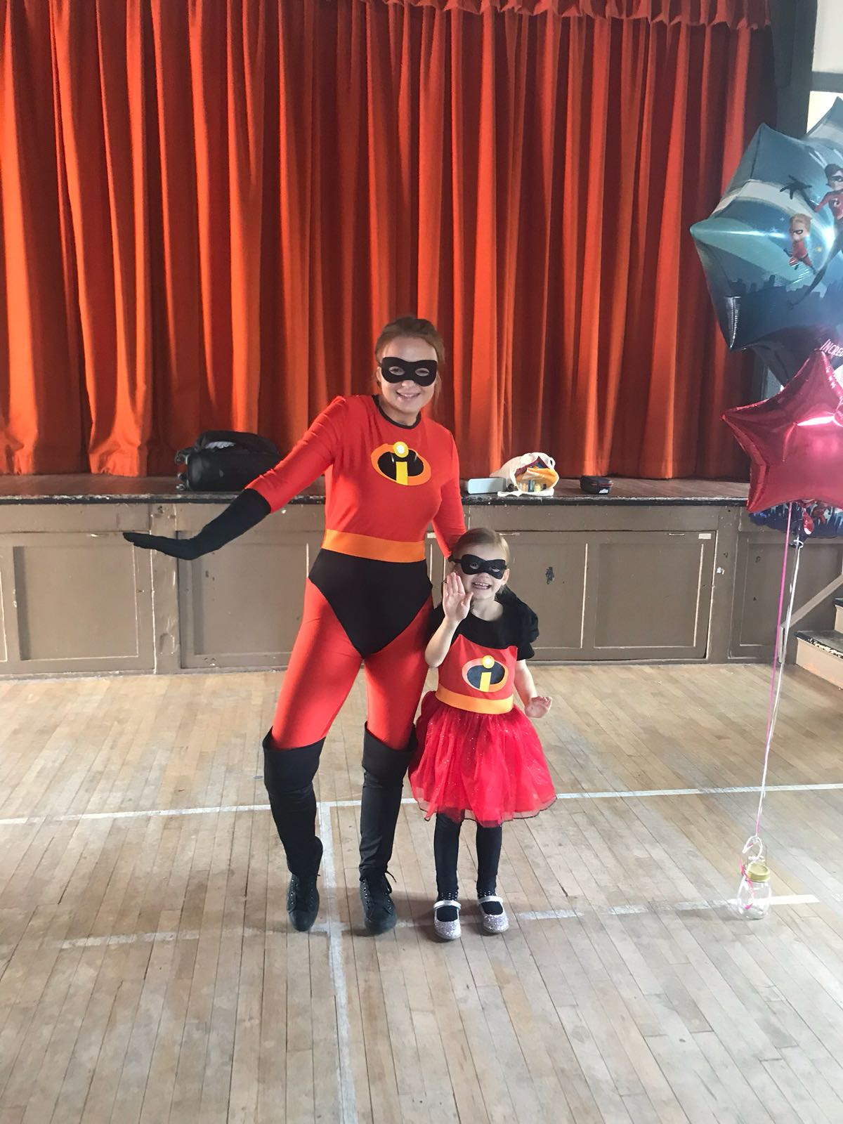 The incredibles superhero party